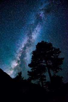 Free Low-angle Photograph Of Stars Royalty Free Stock Images - 111823819