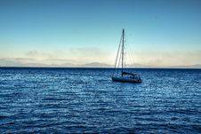 Free White Sailing Boat On Bodies Of Water Stock Image - 111824101