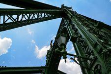 Free Low Angle Photo Of Metal Bridge Royalty Free Stock Photo - 111824155