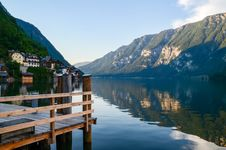 Free Green Mountain Surrounded By Body Of The Water Royalty Free Stock Photos - 111824158