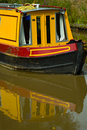 Free Canal Boat Reflections Stock Photo - 1122960