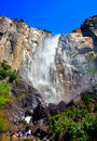 Free Bridal Veils Fall, Yosemite National Park Royalty Free Stock Photography - 1123577