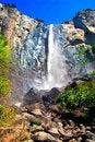 Free Bridal Veils Fall, Yosemite National Park Royalty Free Stock Images - 1123579