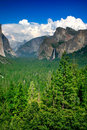Free Tunnel View, Yosemite National Park Stock Photography - 1123602