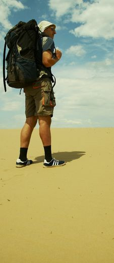 Free Desert Male Stock Photography - 1120812