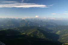 Mountain Morning Royalty Free Stock Photography