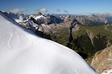 Free Mountains With Snow Royalty Free Stock Photography - 1120977