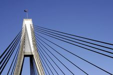 Free Anzac Bridge Royalty Free Stock Photos - 1121058