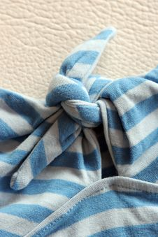 Free Blue Bow Royalty Free Stock Image - 1121266