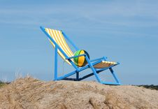 Free Beach Chair Royalty Free Stock Image - 1121426