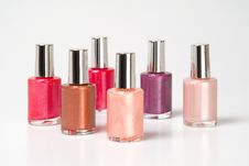 Free Nail Polishes Stock Image - 1122011
