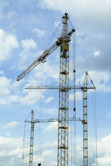 Free Crane Tower Stock Images - 1122834