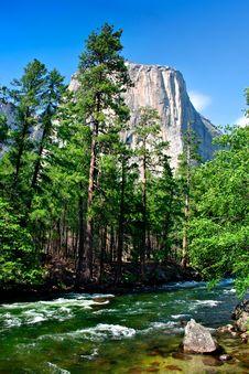 El Capitan, Yosemite National Park Royalty Free Stock Image