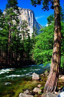 El Capitan, Yosemite National Park Stock Photography