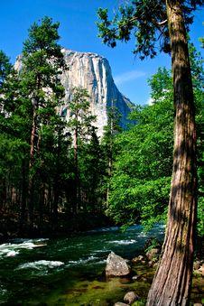 Free El Capitan, Yosemite National Park Royalty Free Stock Photo - 1123615