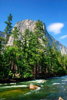 El Capitan, Yosemite National Park Stock Image