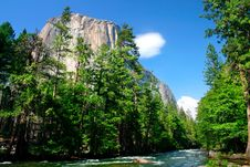 Free El Capitan, Yosemite National Park Stock Photography - 1123622