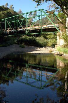 Free Bridge Reflection Stock Photo - 1123740