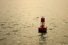 Free Harbor Buoy Royalty Free Stock Photo - 1124995