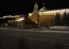Free Red Square In Moscow Stock Image - 1125171