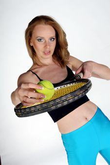 Free Sexy Tennis Player Stock Photos - 1125373