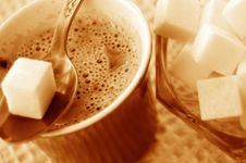 Free Coffee And Sugar Stock Photos - 1125613