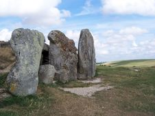 Long Barrow Stock Images