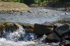 Free Landscape With A Mountain River Stock Photos - 1127843