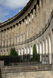 Royal Crescent, Bath Stock Photos