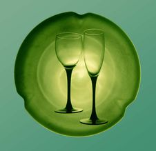 Free Hovering Goblets 1 Stock Photography - 1128822