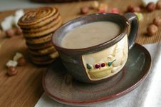 Free Coffee And Cookies Royalty Free Stock Images - 1128859