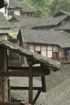 Fubao Folk House Stock Images