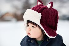 Free Knit Cap, Winter, Headgear, Child Stock Images - 112040594