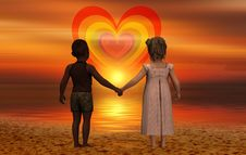 Free Love, Romance, Sky, Friendship Royalty Free Stock Photo - 112040915