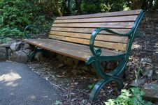 Free Furniture, Bench, Outdoor Furniture, Wood Stock Images - 112041314