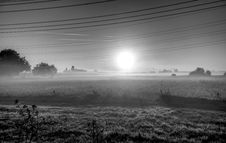 Free Black And White, Fog, Atmosphere, Mist Stock Photography - 112041472