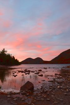 Free Sky, Loch, Reflection, Sunset Royalty Free Stock Image - 112041936