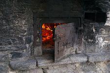 Free Masonry Oven, Heat, Ruins Royalty Free Stock Image - 112043696