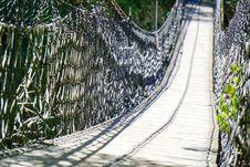 Free Path, Tree, Inca Rope Bridge, Suspension Bridge Royalty Free Stock Photos - 112044188