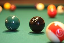 Free English Billiards, Indoor Games And Sports, Billiard Ball, Games Stock Image - 112046131