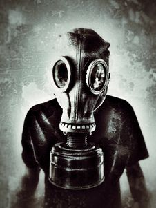 Free Gas Mask, Black And White, Personal Protective Equipment, Mask Stock Photography - 112057062