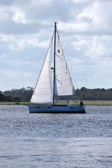 Free Sail, Sailboat, Water Transportation, Waterway Stock Image - 112057711