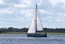 Free Sail, Sailboat, Water Transportation, Waterway Stock Photos - 112057723