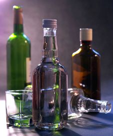 Free Bottle, Liqueur, Glass Bottle, Distilled Beverage Royalty Free Stock Photos - 112057988