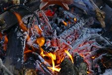 Free Geological Phenomenon, Campfire, Charcoal, Animal Source Foods Stock Image - 112059491