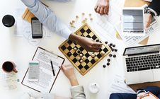 Free Two Person Playing Chess Royalty Free Stock Photo - 112089825
