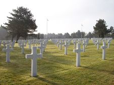 Free D-day Cemetery Royalty Free Stock Photo - 112089965