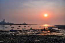 Free Sunset Over The Horizon Stock Image - 112089991