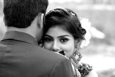 Free Greyscale Photo Of Man And Woman Stock Photo - 112090100