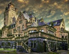 Free Medieval Architecture, Home, Château, Stately Home Royalty Free Stock Photo - 112120605